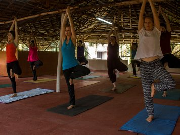 Santhi Yoga Teacher Training Institute 100 Hours Yoga Teacher Training Course