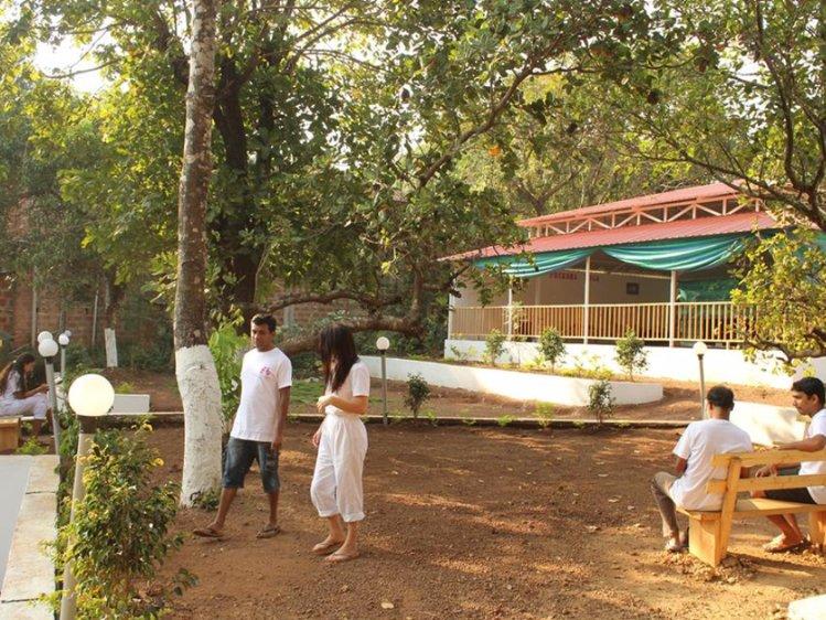Preksha Yoga Ashram Goa India 2