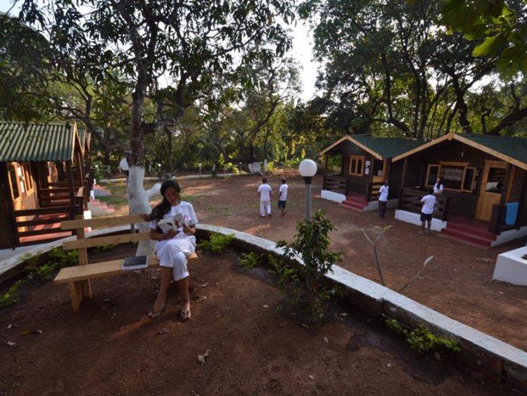 Preksha Yoga Ashram Goa India 1
