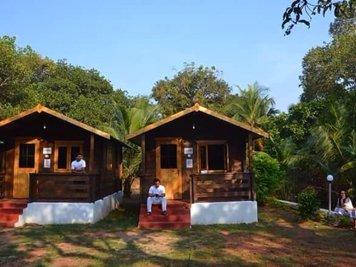 Preksha Yoga Ashram Wooden Cottage