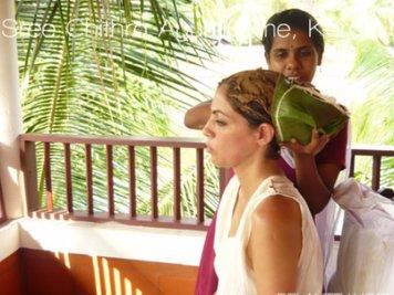 Sree Chithra Ayur Home 6 Nights / 7Days Hair Care Program