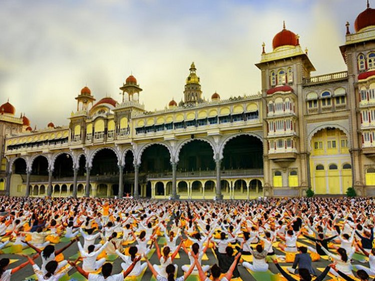 International Festival Of Yogic Heritage  Mysuru India 1