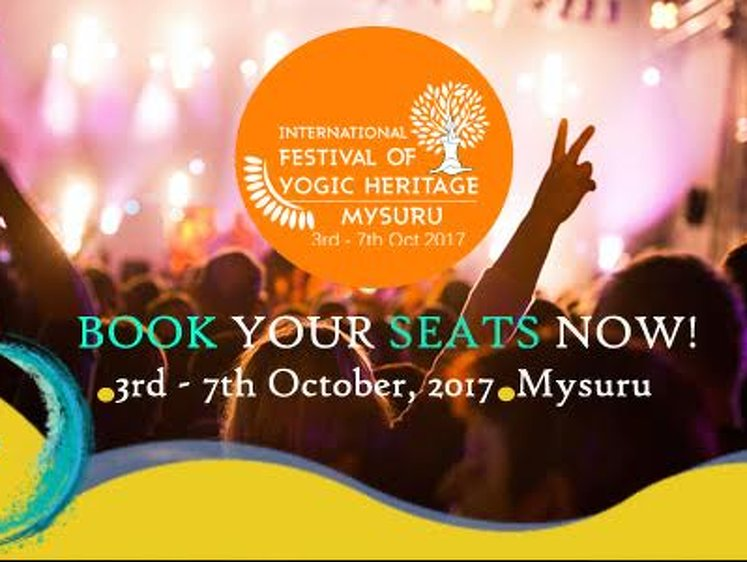 International Festival Of Yogic Heritage  2 Nights / 3 Days Pass (Without Accomoadation) 3