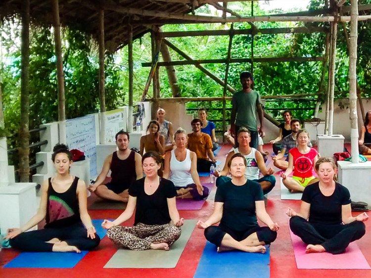 Rama School Of Yoga Varkala India 4
