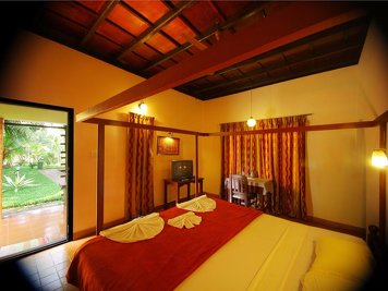 Athreya Ayurvedic Centre Yoga Program Deluxe cottage