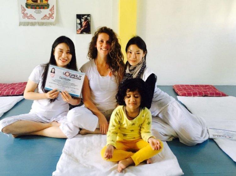 YogaHut Tapovan Rishikesh India 2