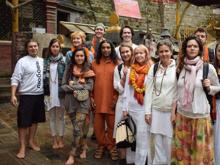 Shanti Yoga Ashram Kathmandu Nepal 3
