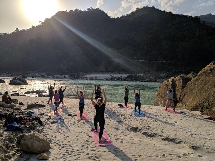 Yoga Vidya Mandiram 200 Hours Hatha and Ashtanga Vinyasa Yoga Teacher Training 12