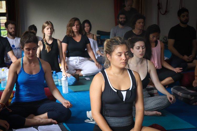 Yoga Vidya Mandiram 500 Hours Hatha & Ashtanga Vinyasa Yoga Teacher Training 12