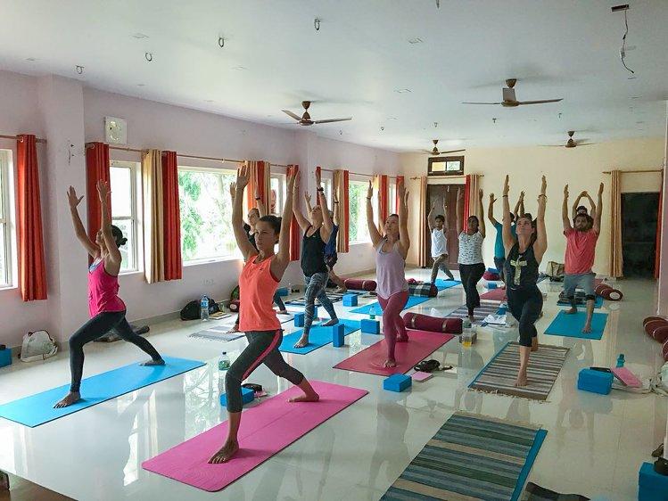 Yoga Vidya Mandiram 500 Hours Hatha & Ashtanga Vinyasa Yoga Teacher Training 16