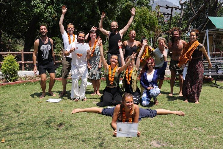Yoga Vidya Mandiram 500 Hours Hatha & Ashtanga Vinyasa Yoga Teacher Training 24