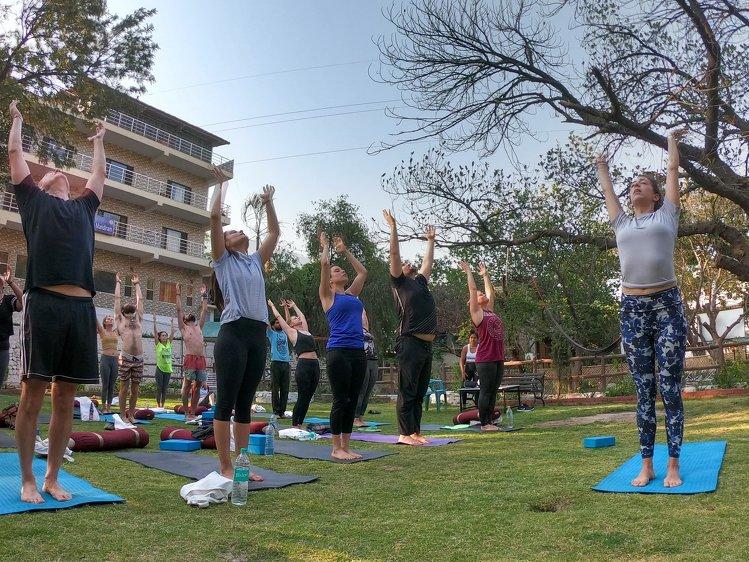 Yoga Vidya Mandiram 50 Hour Hatha & Ashtanga Vinyasa Yoga Teacher Training 10
