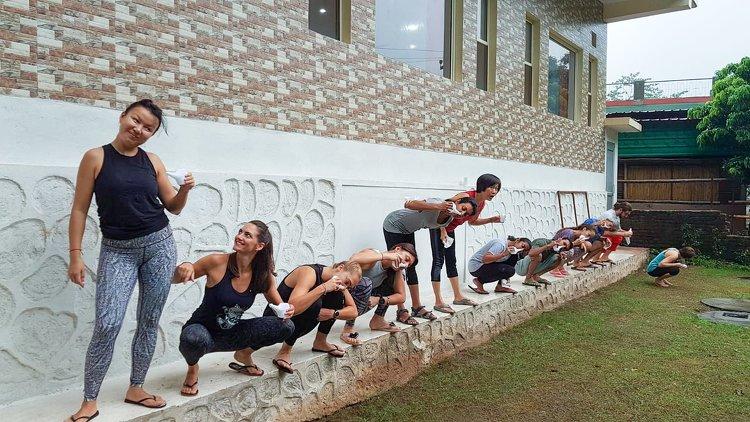 Yoga Vidya Mandiram 50 Hour Hatha & Ashtanga Vinyasa Yoga Teacher Training 12