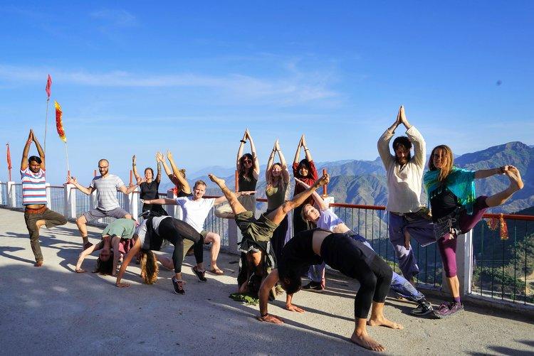 Yoga Vidya Mandiram 50 Hour Hatha & Ashtanga Vinyasa Yoga Teacher Training 16