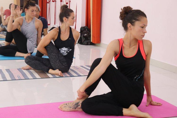 Yoga Vidya Mandiram 100 Hour Hatha & Ashtanga Vinyasa Yoga Teacher Training 1