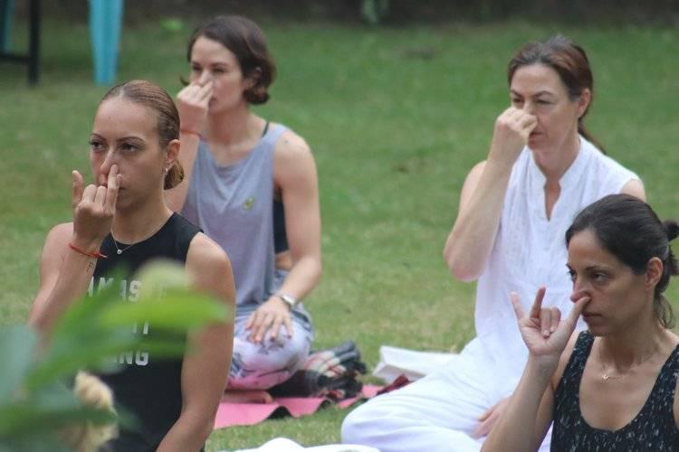 Yoga Vidya Mandiram 7 Days Pranayama (Breath) & Yoga Retreat 4