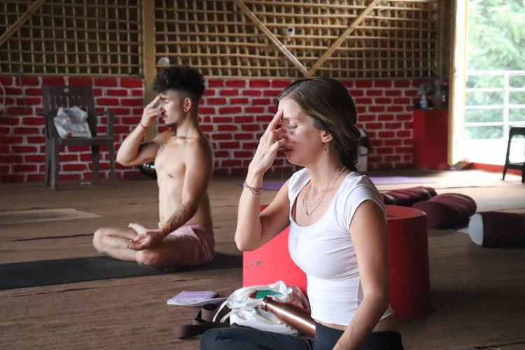 Yoga Vidya Mandiram 7 Days Pranayama (Breath) & Yoga Retreat 5