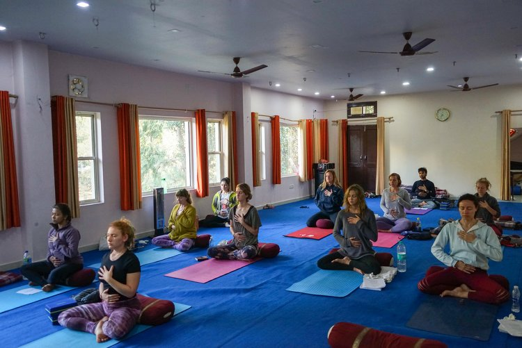 Yoga Vidya Mandiram 7 Days Pranayama (Breath) & Yoga Retreat 7