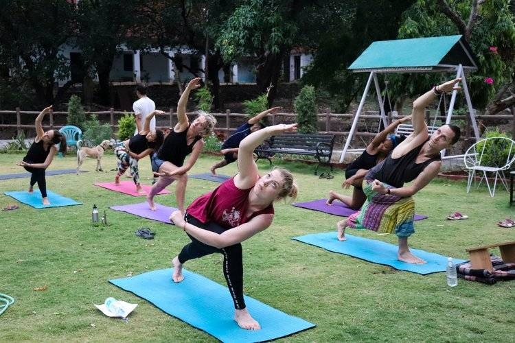 Yoga Vidya Mandiram 7 Days Pranayama (Breath) & Yoga Retreat 14