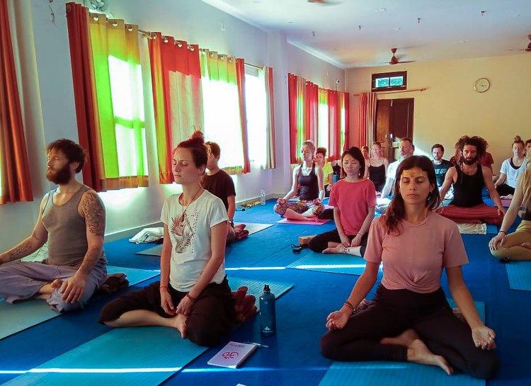 Yoga Vidya Mandiram 7 Days Pranayama (Breath) & Yoga Retreat 15