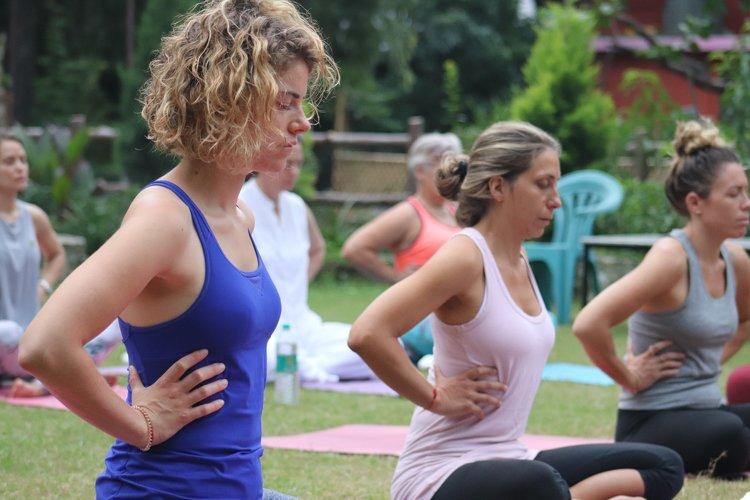 Yoga Vidya Mandiram 7 Days Relaxation (Yoga Nidra) & Yoga Retreat 5