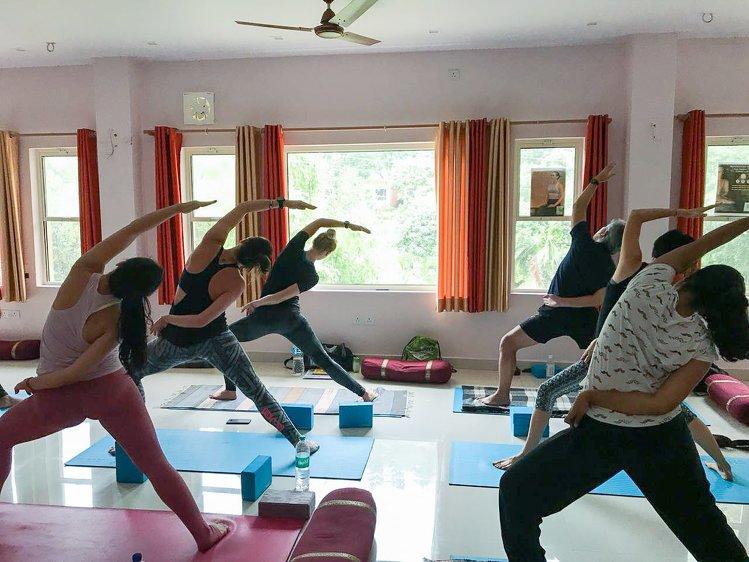 Yoga Vidya Mandiram 7 Days Relaxation (Yoga Nidra) & Yoga Retreat 8