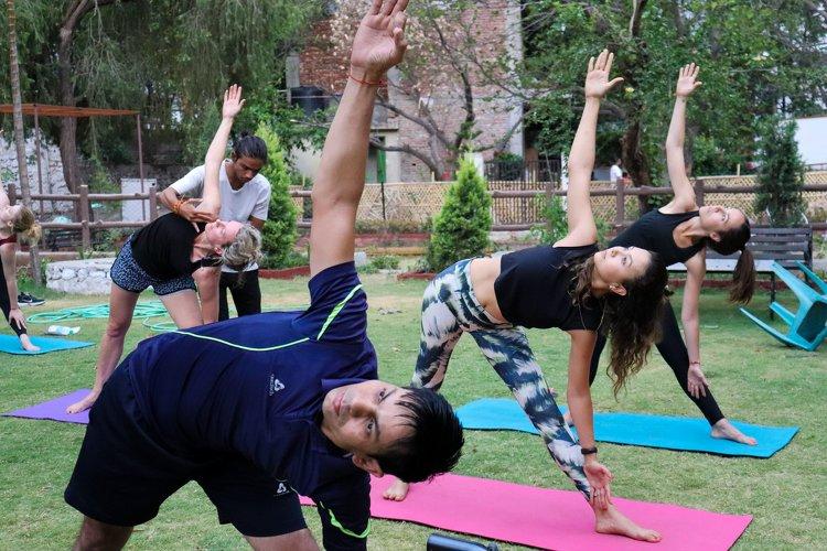 Yoga Vidya Mandiram 7 Days Relaxation (Yoga Nidra) & Yoga Retreat 12