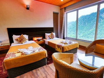 Veda5 Ayurveda and Yoga Retreat Stress Management Package Deluxe Room