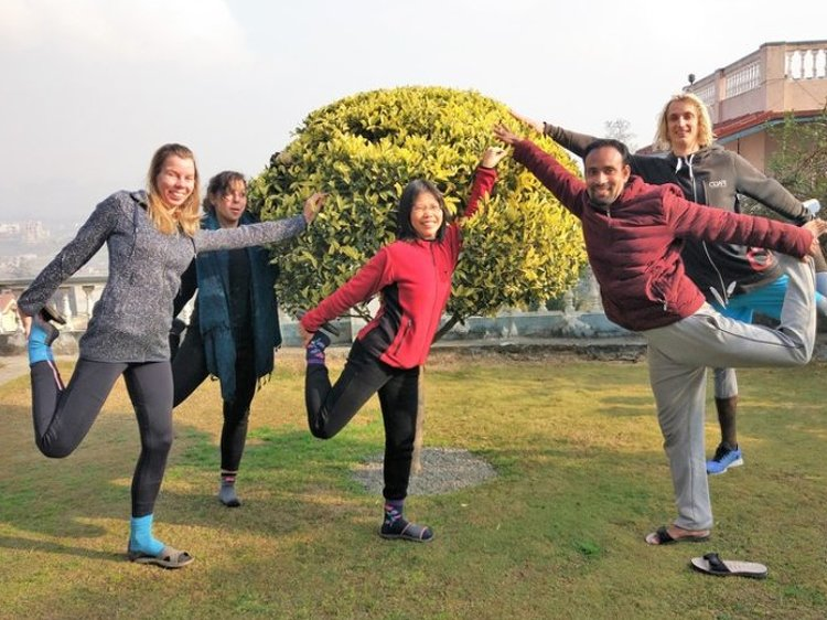 Nepal Yoga Home Yoga Retreat 1