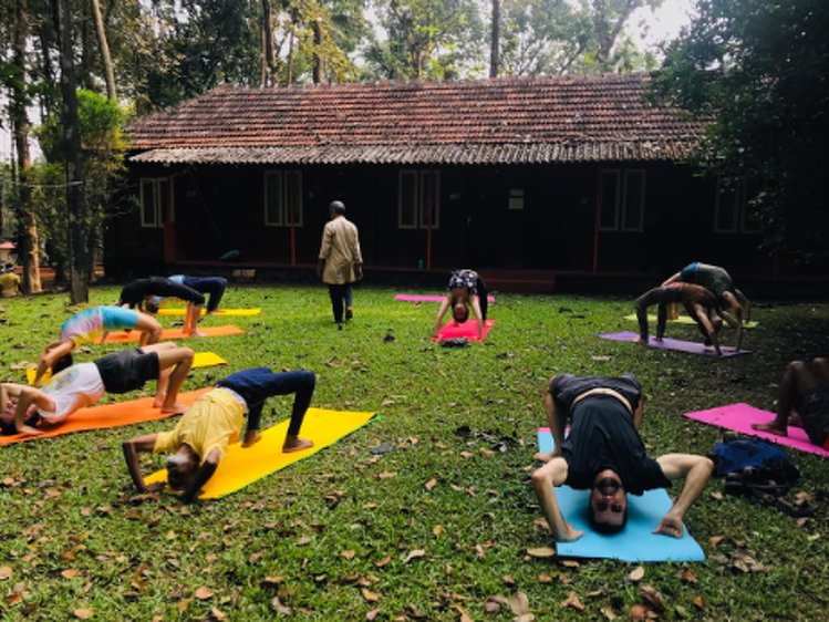 Santhi Yoga International Teachers Training and  Research Hosana Mount Kottayam India 4