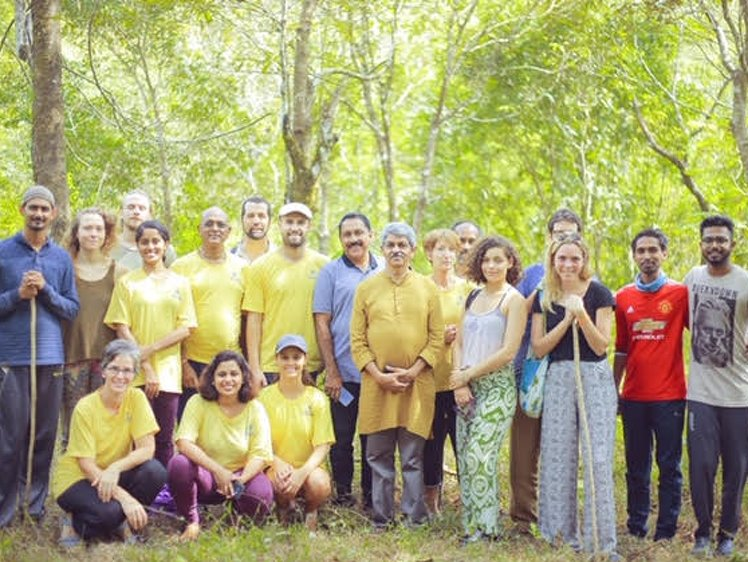 Santhi Yoga International Teachers Training and  Research Hosana Mount Kottayam India 5