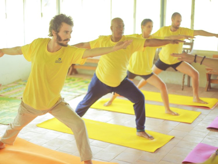 Santhi Yoga International Teachers Training and  Research Hosana Mount Kottayam India 10