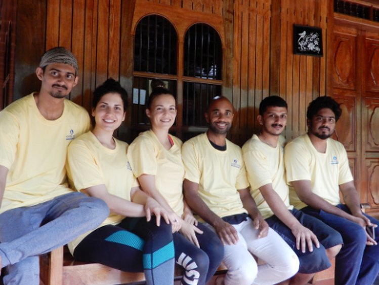 Santhi Yoga International Teachers Training and  Research Hosana Mount Kottayam India 12
