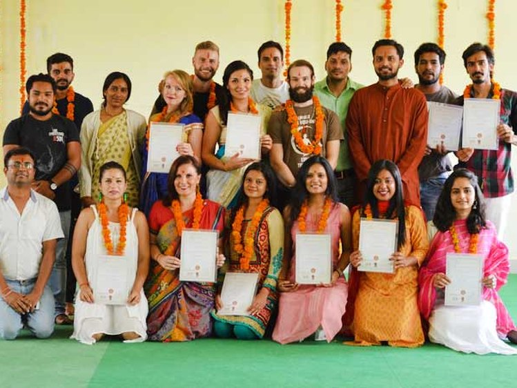 Arogya Yoga School  Rishikesh India 1