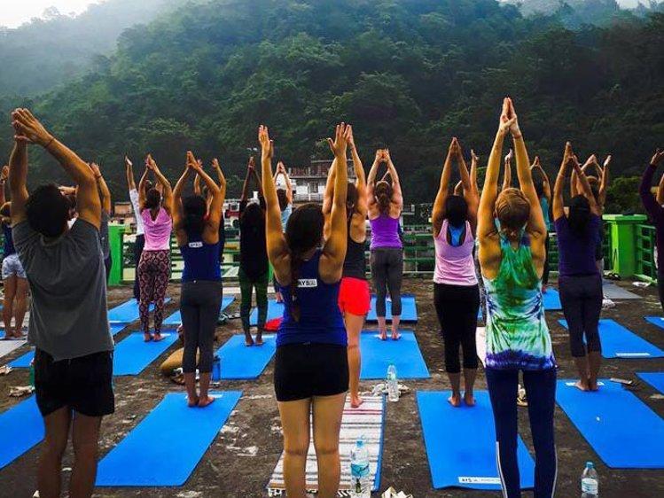 RISHIKESH YOGPEETH 200 Hour Yoga Teacher Training At  Vithal Ashram 1