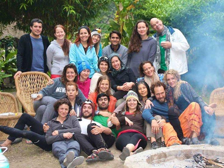 RISHIKESH YOGPEETH 200 Hour Yoga Teacher Training At  Vithal Ashram 10
