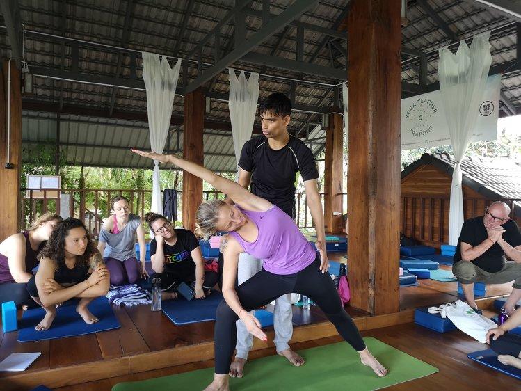 Yoga Vidya Mandiram Thailand Chiangmai Thailand 11