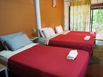 Yoga Vidya Mandiram Thailand Shared Dorm Room