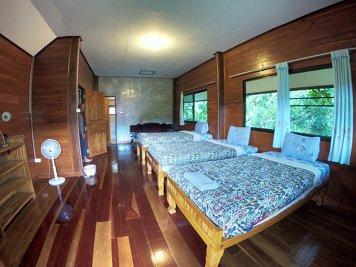 Yoga Vidya Mandiram Thailand Female Dorm Room - Garden (3-4 mins walk)