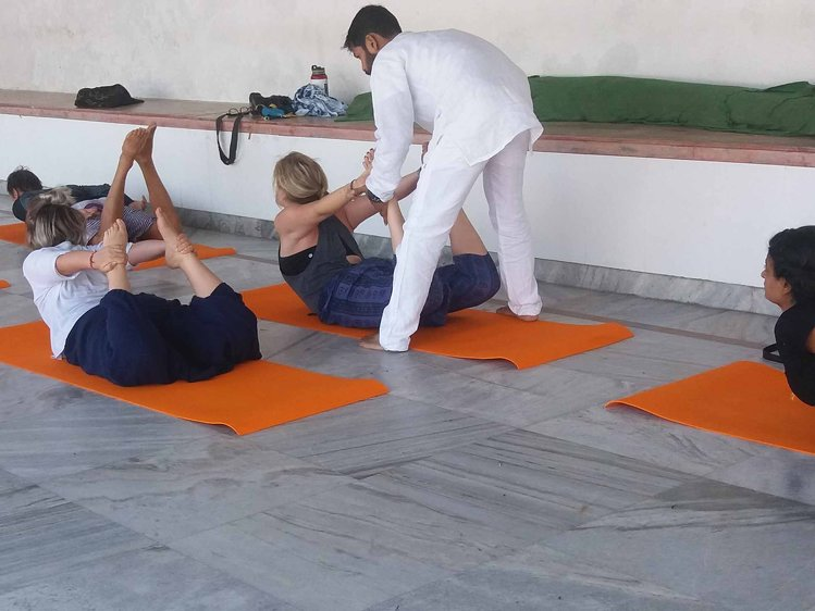 Rishikesh  Yog Sansthan 200 hrs Yoga Teacher Training 1