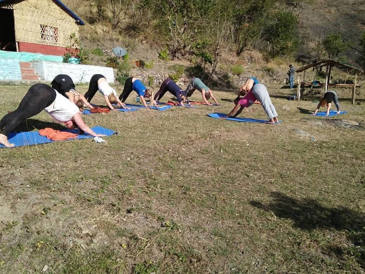 Rishikesh  Yog Sansthan 200 hrs Yoga Teacher Training 3