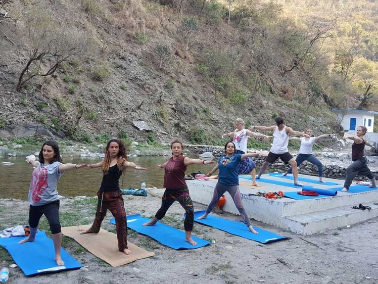 Rishikesh  Yog Sansthan 200 hrs Yoga Teacher Training 4