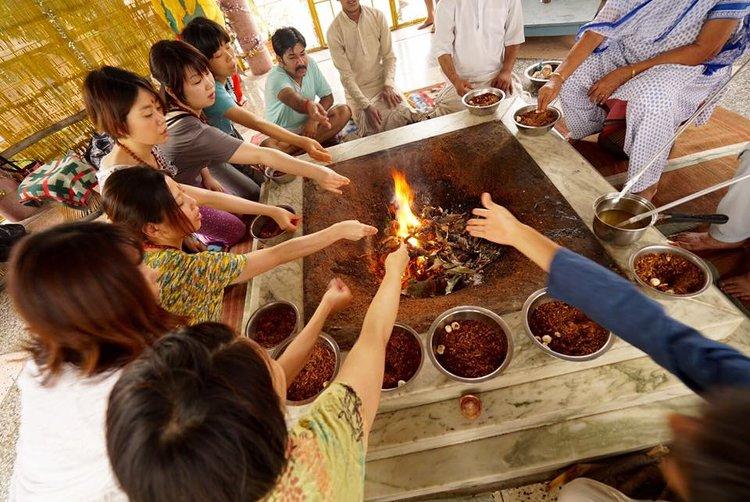 Shiva yoga Niketan Hatha Yoga Teacher Training 2