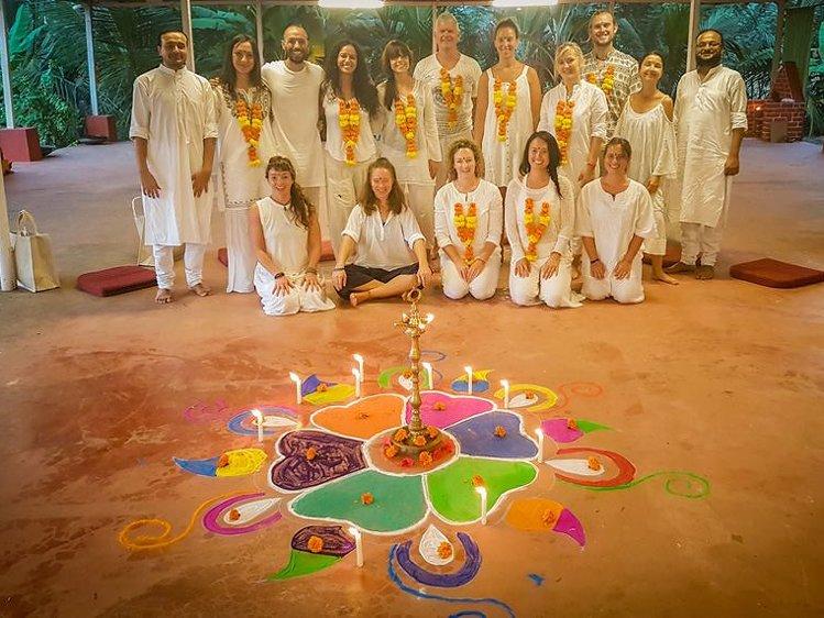 Ocean Yoga Goa  India 2