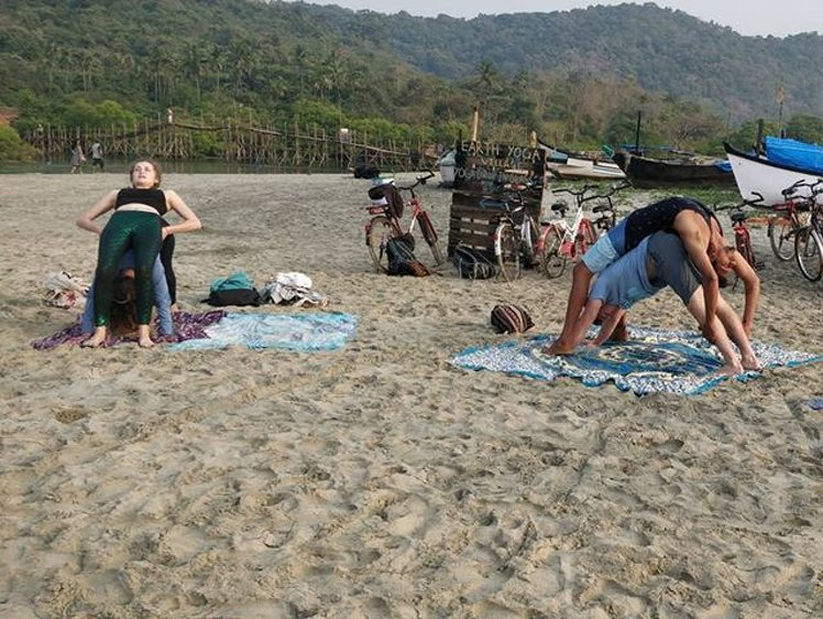 Ocean Yoga Goa  India 5