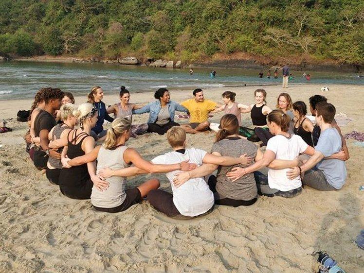 Ocean Yoga Goa  India 6