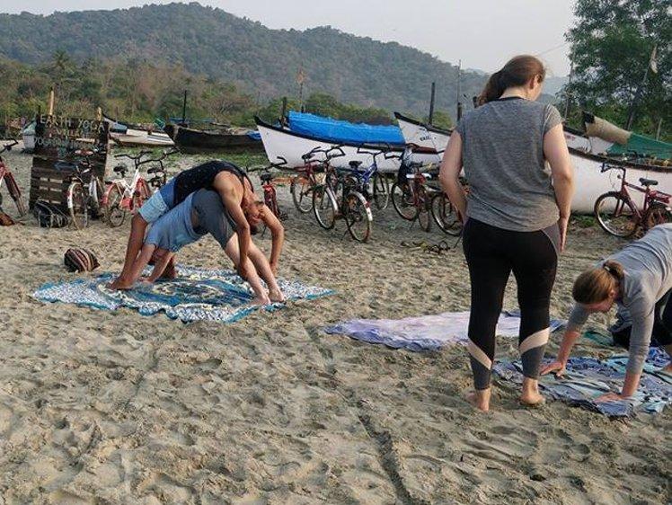 Ocean Yoga Goa  India 7