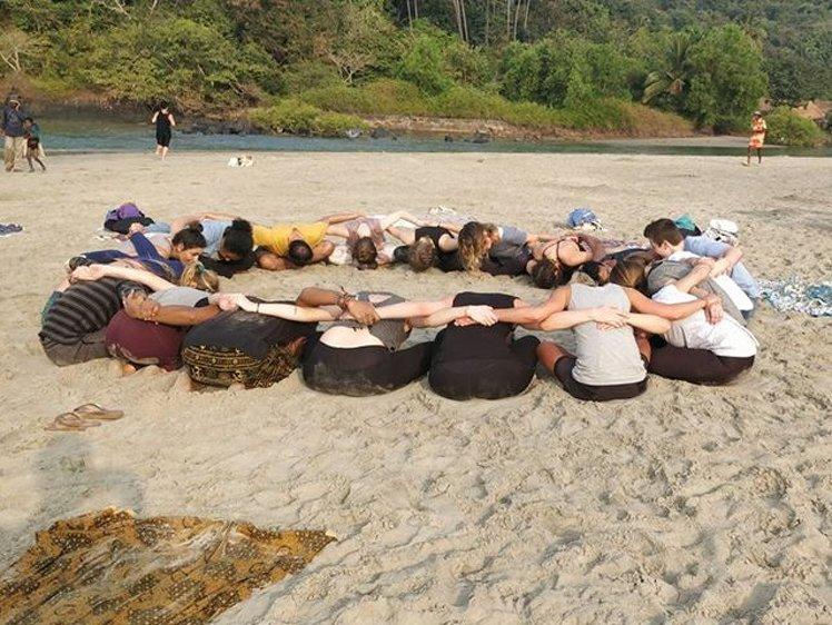 Ocean Yoga Goa  India 8