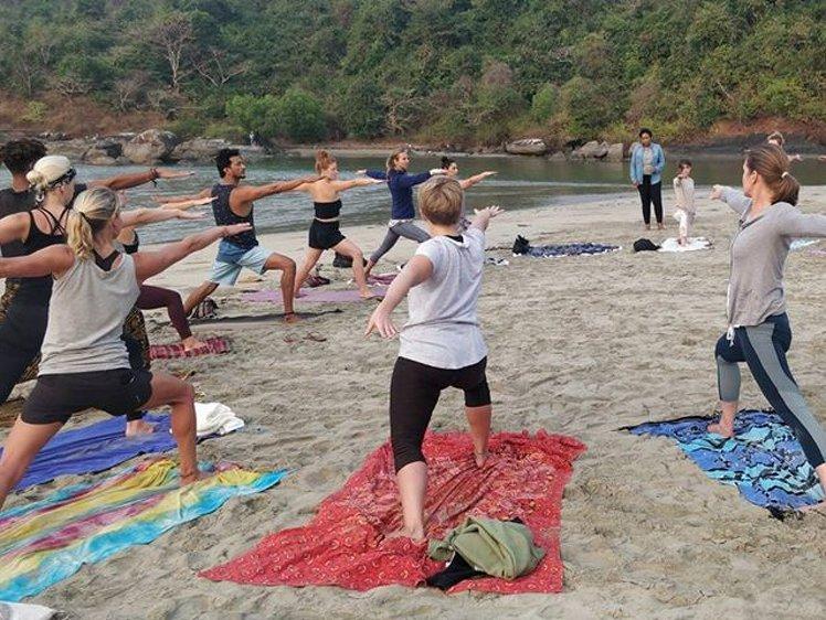 Ocean Yoga Goa  India 9