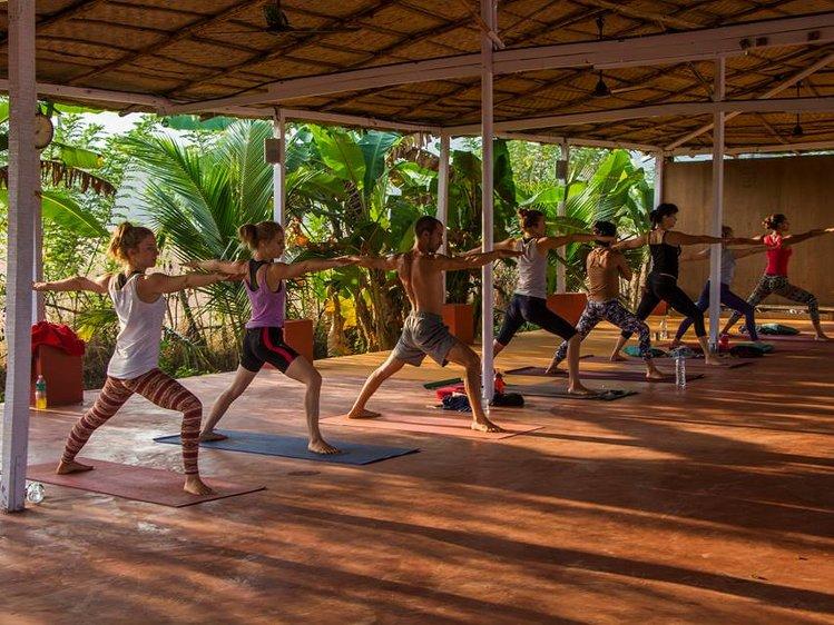 Ocean Yoga Goa  India 17